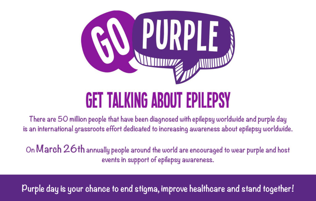 Epilepsy Purple Day